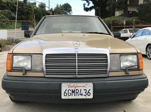 1987 Mercedes-Benz 300-Class for sale at A 1 MOTORS in Lomita CA