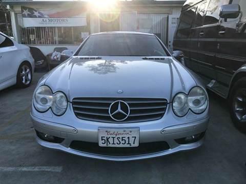 2003 Mercedes-Benz SL-Class for sale at A 1 MOTORS in Lomita CA