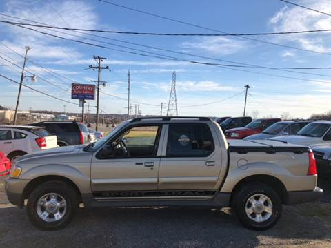 2003 Ford Explorer Sport Trac for sale at Country Auto Sales in Boardman OH