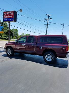 2002 Dodge Ram Pickup 1500 for sale at Country Auto Sales in Boardman OH