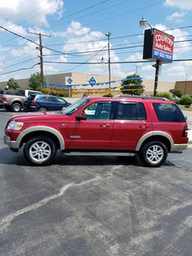 2008 Ford Explorer for sale at Country Auto Sales in Boardman OH