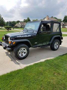 2000 Jeep Wrangler for sale at Country Auto Sales in Boardman OH
