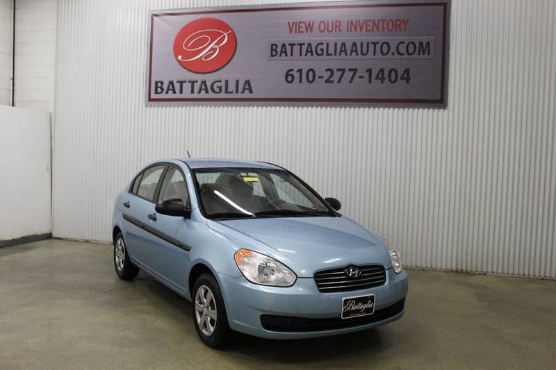2009 Hyundai Accent Gls 4dr Sedan 5m In Plymouth Meeting Pa