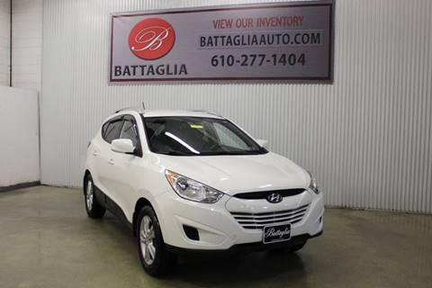 2011 Hyundai Tucson for sale at Battaglia Auto Sales in Plymouth Meeting PA
