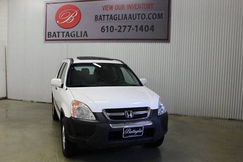 2004 Honda CR-V for sale at Battaglia Auto Sales in Plymouth Meeting PA