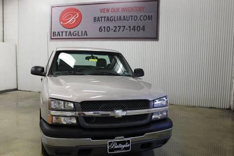 2005 Chevrolet Silverado 1500 for sale at Battaglia Auto Sales in Plymouth Meeting PA