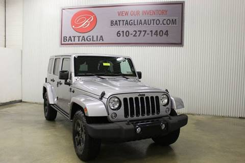 2015 Jeep Wrangler Unlimited for sale in Plymouth Meeting, PA