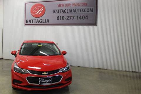 2017 Chevrolet Cruze for sale at Battaglia Auto Sales in Plymouth Meeting PA
