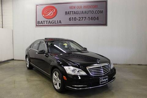 2010 Mercedes-Benz S-Class for sale at Battaglia Auto Sales in Plymouth Meeting PA