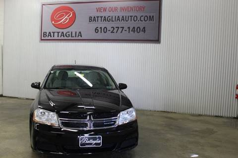 2012 Dodge Avenger for sale at Battaglia Auto Sales in Plymouth Meeting PA