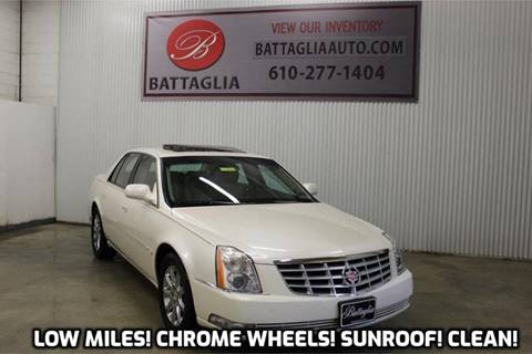 2008 Cadillac DTS for sale at Battaglia Auto Sales in Plymouth Meeting PA