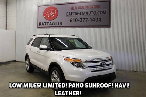 2011 Ford Explorer for sale at Battaglia Auto Sales in Plymouth Meeting PA