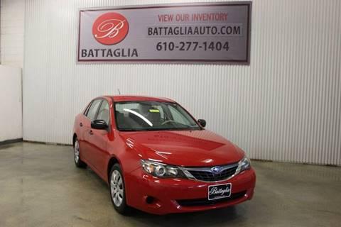 2008 Subaru Impreza for sale at Battaglia Auto Sales in Plymouth Meeting PA