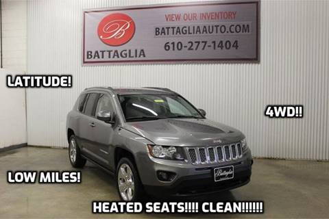 2014 Jeep Compass for sale at Battaglia Auto Sales in Plymouth Meeting PA