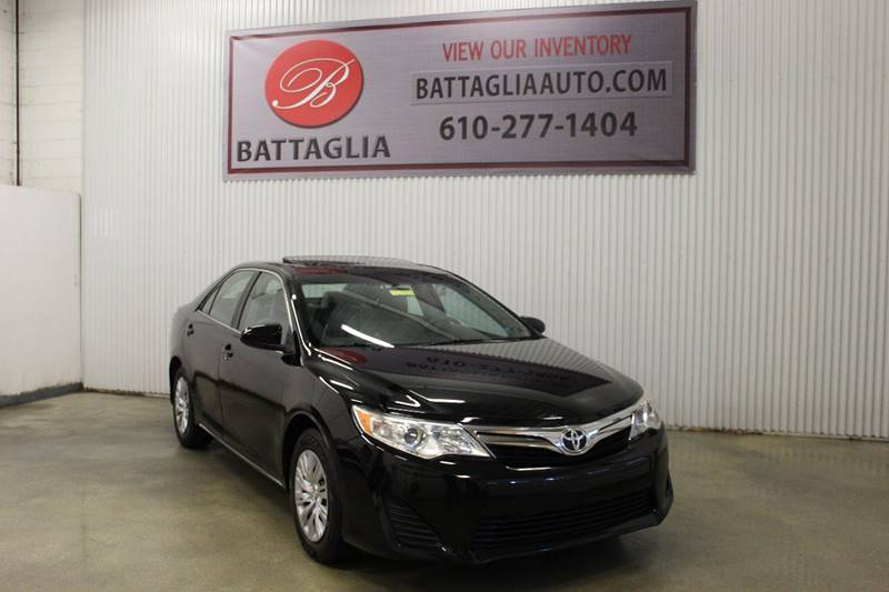 2012 Toyota Camry LE 4dr Sedan In Plymouth Meeting PA