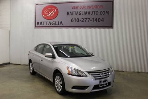 2015 Nissan Sentra for sale at Battaglia Auto Sales in Plymouth Meeting PA