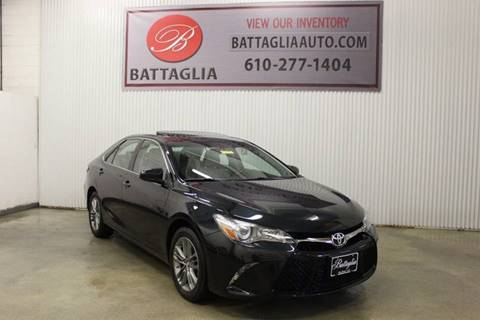 2015 Toyota Camry for sale at Battaglia Auto Sales in Plymouth Meeting PA