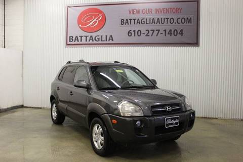 2007 Hyundai Tucson for sale at Battaglia Auto Sales in Plymouth Meeting PA