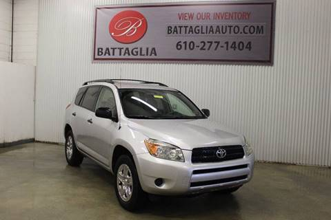 2007 Toyota RAV4 for sale at Battaglia Auto Sales in Plymouth Meeting PA