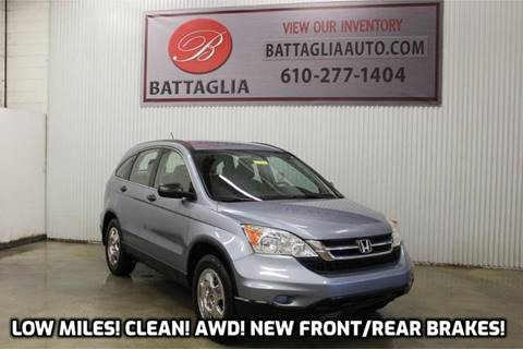 2011 Honda CR-V for sale at Battaglia Auto Sales in Plymouth Meeting PA
