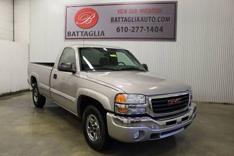 2004 GMC Sierra 1500 for sale at Battaglia Auto Sales in Plymouth Meeting PA