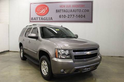 2008 Chevrolet Tahoe for sale at Battaglia Auto Sales in Plymouth Meeting PA
