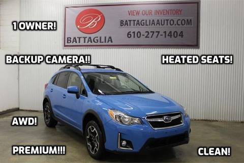 2016 Subaru Crosstrek for sale at Battaglia Auto Sales in Plymouth Meeting PA