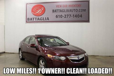 2011 Acura TSX for sale at Battaglia Auto Sales in Plymouth Meeting PA