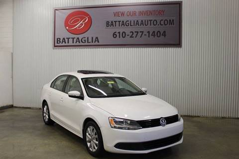 2012 Volkswagen Jetta for sale at Battaglia Auto Sales in Plymouth Meeting PA