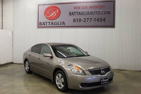 2008 Nissan Altima for sale at Battaglia Auto Sales in Plymouth Meeting PA