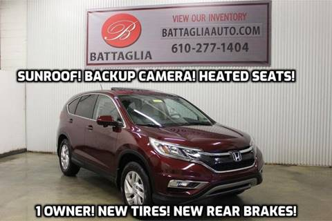 2015 Honda CR-V for sale at Battaglia Auto Sales in Plymouth Meeting PA
