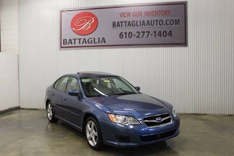 2008 Subaru Legacy for sale at Battaglia Auto Sales in Plymouth Meeting PA