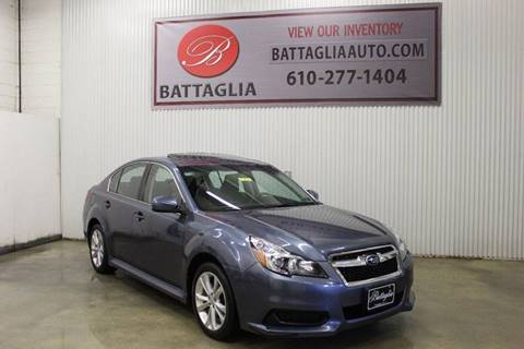 2014 Subaru Legacy for sale at Battaglia Auto Sales in Plymouth Meeting PA