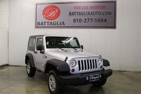 2012 Jeep Wrangler for sale at Battaglia Auto Sales in Plymouth Meeting PA