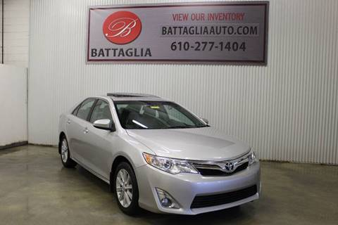 2013 Toyota Camry for sale at Battaglia Auto Sales in Plymouth Meeting PA