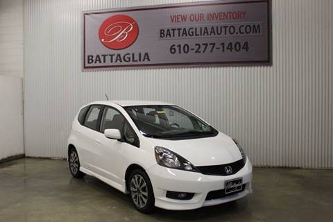 2012 Honda Fit for sale at Battaglia Auto Sales in Plymouth Meeting PA