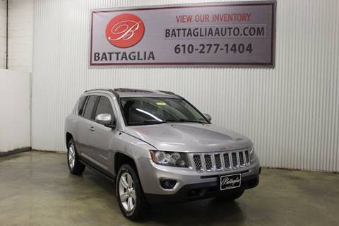 2015 Jeep Compass for sale at Battaglia Auto Sales in Plymouth Meeting PA