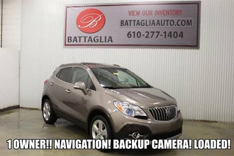 2015 Buick Encore for sale at Battaglia Auto Sales in Plymouth Meeting PA