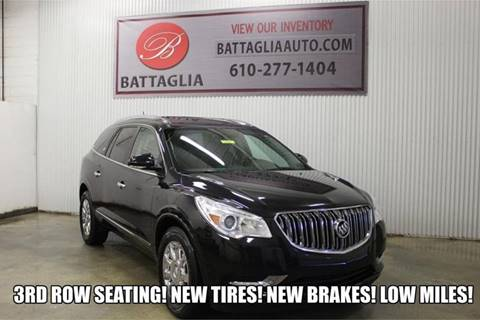 2014 Buick Enclave for sale at Battaglia Auto Sales in Plymouth Meeting PA