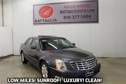 2009 Cadillac DTS for sale at Battaglia Auto Sales in Plymouth Meeting PA