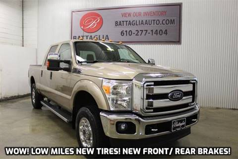 2012 Ford F-250 Super Duty for sale at Battaglia Auto Sales in Plymouth Meeting PA