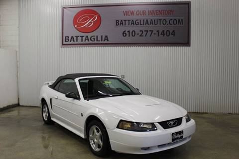 2004 Ford Mustang for sale at Battaglia Auto Sales in Plymouth Meeting PA