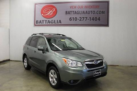 2016 Subaru Forester for sale at Battaglia Auto Sales in Plymouth Meeting PA