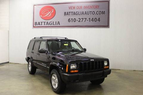 2001 Jeep Cherokee for sale at Battaglia Auto Sales in Plymouth Meeting PA