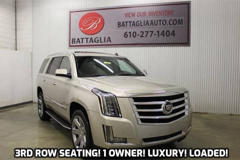 2015 Cadillac Escalade for sale at Battaglia Auto Sales in Plymouth Meeting PA