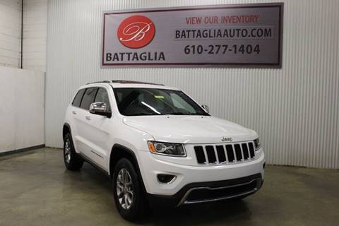 2016 Jeep Grand Cherokee for sale at Battaglia Auto Sales in Plymouth Meeting PA
