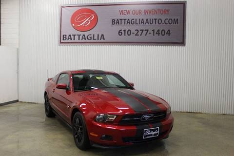 2012 Ford Mustang for sale at Battaglia Auto Sales in Plymouth Meeting PA