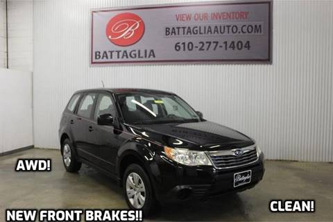 2010 Subaru Forester for sale at Battaglia Auto Sales in Plymouth Meeting PA