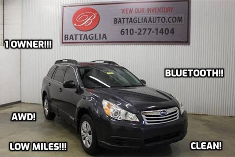 2011 Subaru Outback for sale at Battaglia Auto Sales in Plymouth Meeting PA