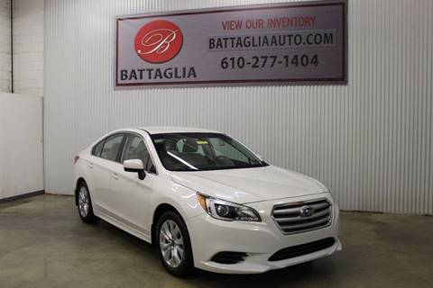 2015 Subaru Legacy for sale at Battaglia Auto Sales in Plymouth Meeting PA